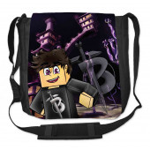 Black1200 - Ender Blackista közepes oldaltáska