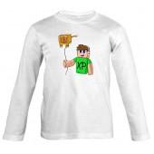 XP - Kormi gyerek hosszú ujjú póló