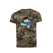 PGT Dani - Kiis terep mintás férfi póló