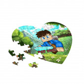 PGT Dani - Kiis szív alakú puzzle