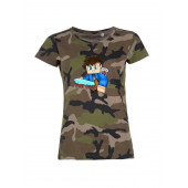 PGT Dani - Kiis terep mintás női póló