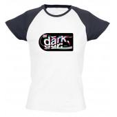 iDark - Dark női póló színes vállal
